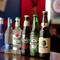 お酒の種類がとても豊富!世界各地のビールも取り揃えています
