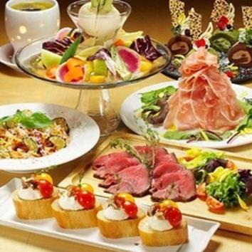 【合コン】ポテト3時間食放題&チキンステーキ飲放題付¥2500