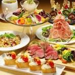 【合コンプラン】チキンステーキ3時間食べ飲み放題付2500円/人