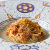 シチリア風のアレンジでいただく『生ウニとレモンの自家製タリオリーニ』