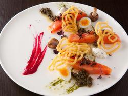 シェフおススメの料理メニューから、それぞれお好きなものを選び組み立てるコースです。