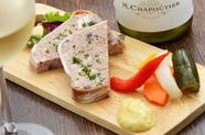 コクの有る豚レバーがワインを進める『パテ・ド・カンパーニュ』