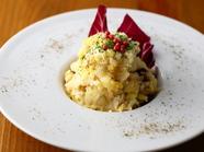 噛みしめるごとに広がる旨み『鯖の干物といぶりがっこ、スモークチーズのポテトサラダ』