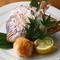 活きの良い「鮮魚」や、色つや美しい「野菜」にこだわり