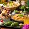 季節を重んじた食材をつかった、多彩な料理の数々
