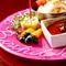 お誕生日や記念日を祝うコースでは、デザートをグレードアップ!