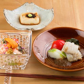瀬戸内や北陸の極上食材を贅沢に使用【おまかせ8000円コース】