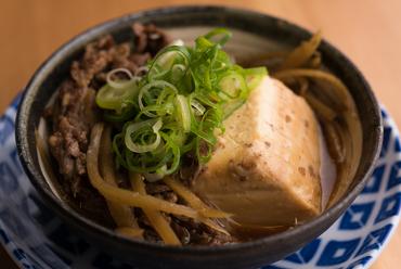 【ほし寅】名物『肉豆腐』