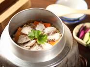 天然真鯛の釜飯