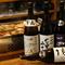 日本全国から厳選された日本酒が充実のラインナップ