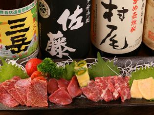 日本各地の銘酒をご用意。中には希少なお酒も