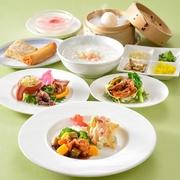 小前菜 二種点心 主菜(下記の9品の主菜より1品お選びください) スープ ごはん/ザーサイ デザート