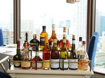 ソムリエ厳選のお酒が充実のラインナップ