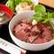 味もお値段も満足!『ローストビーフ丼』などの肉メニュー