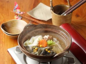 出汁もその身も奥深い味わいの『スッポン鍋』