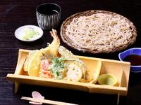 旬を感じる『筑膳きせつの天ぷらそば』