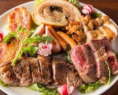 人気の熟成肉と盛り合わせの豪華肉コースです※無料のお名前入りデザートプレートも要望にてご用意!