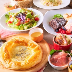 グラムのお試しコース お肉とチーズを楽しむカジュアルイタリアンコースです!