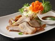 タイの豚トロ焼き『コ-ムーヤーン』