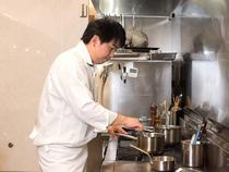 お客様と真摯に向き合い、心に残る料理づくり
