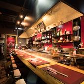 くつろげる雰囲気の店内で、ゆったりとお食事を満喫