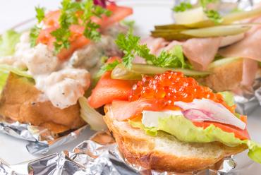 和食を北欧風にアレンジ。ジャパンテイストあふれる素材をいただく『オーブンサンドイッチ』