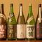 常時20種以上ある奈良の地酒を中心とした美酒がズラリ