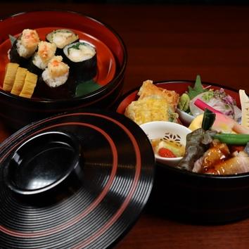 お昼の限定ご奉仕弁当「萬福」Manpuku