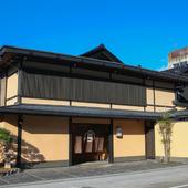金沢の街の中心に店を構える、威風堂々たる佇まい