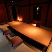 様々なシチュエーションで使える大小様々な個室