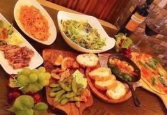 エスフレスコオススメの料理を集めたコースです。ボリュームがあるのでお腹がすいている方も満足できます!