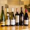 料理と相性の良い各国のワインをリーズナブルに提供