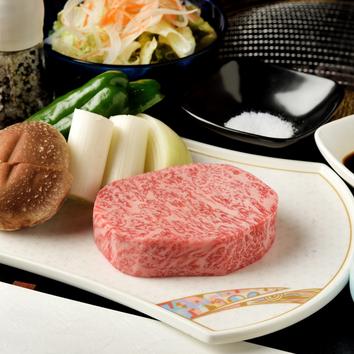 飛騨牛網焼ステーキセット(ロース7000円、ヒレ8000円)