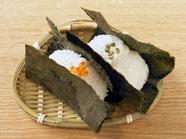 ほどける食感と広がるお米の旨みに感動。趣向を凝らした具材でいただく『おむすび』