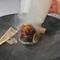 厳選椎茸の肉厚な食感が、さらにジューシーに『のと115のコンフィ 炭の香りを添えて』