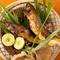 鮎、キンキ、サワラなど、旬の魚を最上のおいしさに『焼き物』