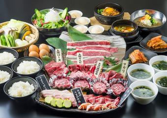 上質なお肉を料理長が厳選したファミリーセット。美味しさもボリュームもきっとご満足いただけます。