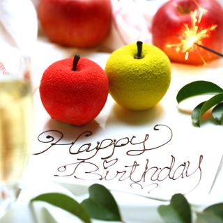 誕生日月・記念日特典に1日3組限定でプレゼント