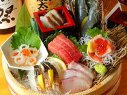 新鮮な食材をたっぷり堪能できる、産地直送だから鮮度に自信あり!『刺盛 大漁盛り』
