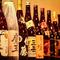 焼酎、日本酒も幅広いラインナップ