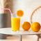 新鮮なオレンジをその場で搾る『フレッシュオレンジジュース』