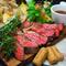 葡萄牛の肉プレート盛り合わせ
