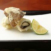 秋だけ味わうことができる贅沢な出合いもの『鱧と松茸』