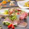 北海道の食材をつかったイタリア料理が堪能できる