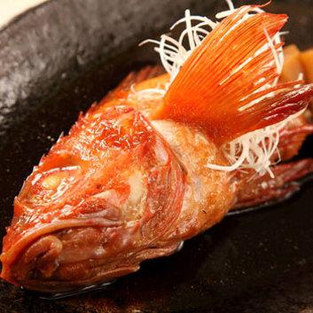 お料理のみ「きんき姿煮コース」全7品 9,500円