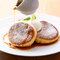 銅板で焼き上げる、スフレ形のふわふわな『パンケーキ』