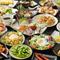 大人気の「食べ飲み放題コース」は圧巻のボリューム!