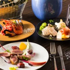 ★都内でも珍しい選べる前菜ワゴンサービス付★10種以上のその日の前菜からお好きなモノをチョイス!