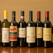 美味しい料理に欠かせない、厳選イタリア産ワイン
