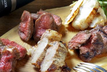 Sous-solの肉盛り 5種